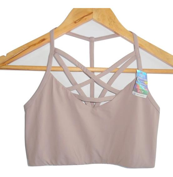 Victorias Secret Pink Yoga Bra Chico Sport (32-34b) Strappy