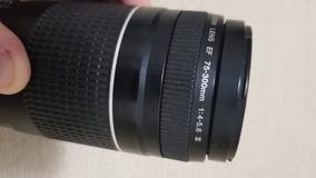 Lente Canon 75-300 Iii Com Defeito