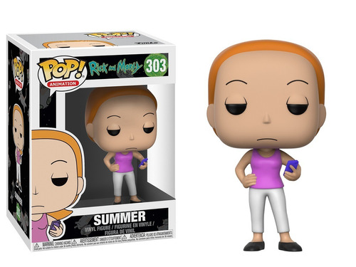 Funko Pop Animation Rick And Morty Summer #303