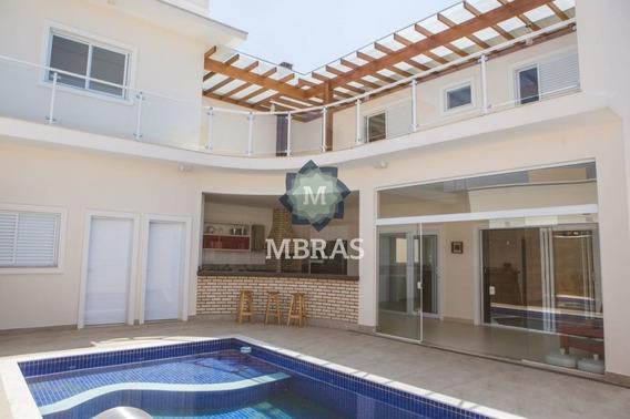Belíssima Casa De Condomínio Em Indaiatuba - Mb2151