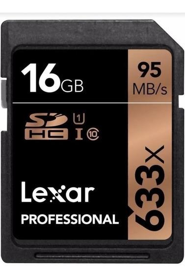 Cartão Memória Lexar Sd 95mb/s 633x 16gb