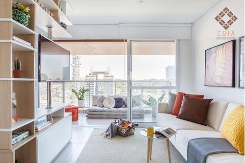 Imagem 1 de 14 de Apartamento Com 1 Dormitório À Venda, 50 M² Por R$ 645.000 - Brooklin - São Paulo/sp - Ap53461