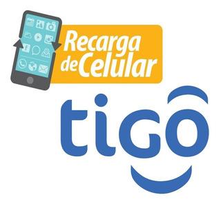 Recarga Celular Tigo Combo Voz+internet+wapp/facebook Gratis