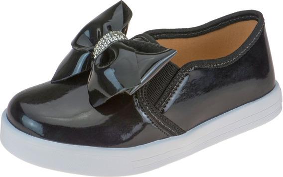 Tênis Infantil Feminino Sapatênis Casual Sapato Escolar Moda