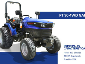 Tractor Farmtrac 4x4 30 Hp