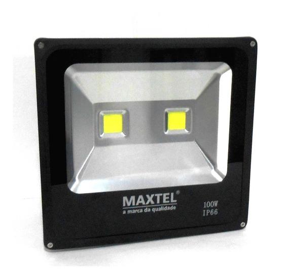 Refletor Holofote Led Maxtel 100w Primeira Linha ( Promoção)