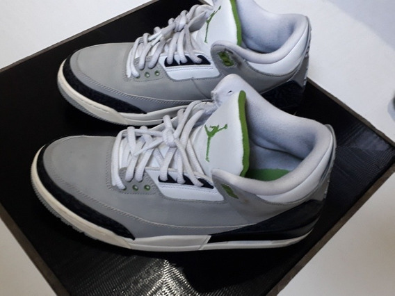Nike Air Jordan 3 Retro Clorofila(clorophy)