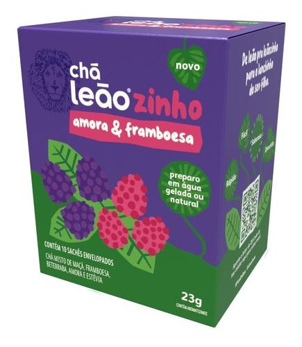 Imagem 1 de 1 de Chá Leãozinho Água Gelada - Framboesa & Amora- 10 Un