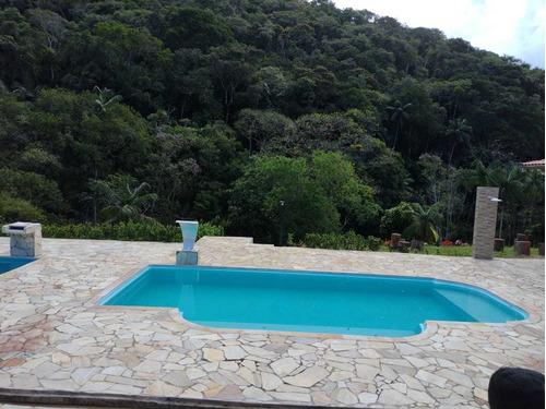 Juquitiba/chácara Com Casa/piscina/03 Lagos/ref:05162