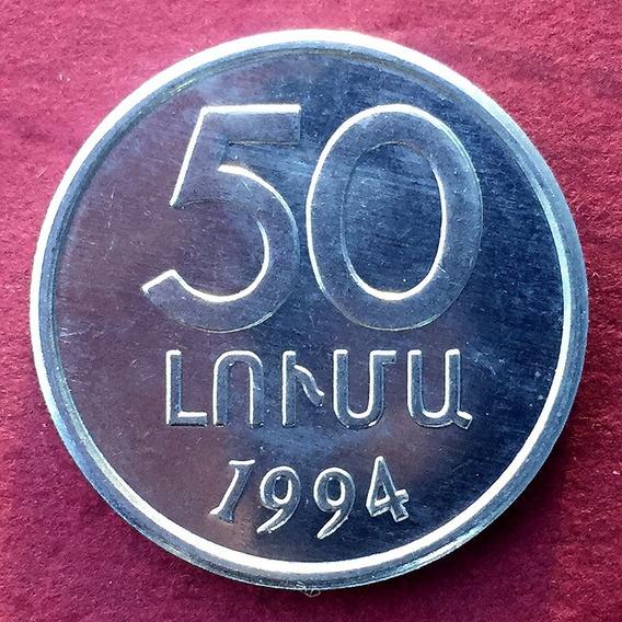 Armenia - Moneda 50 Luma 1994 ¡ Nueva- Sin Circular !