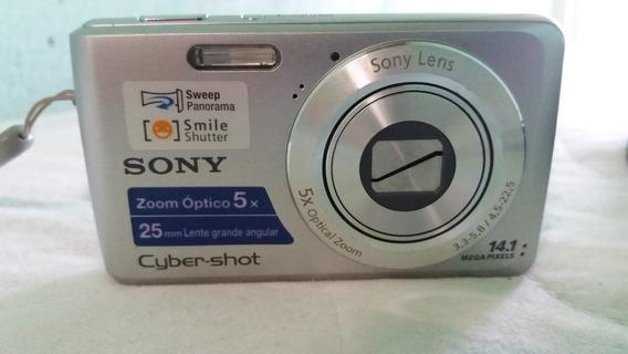 Câmera Cyber-shot Da Sony Dsc-w520 14.1 Mp Panorâmica