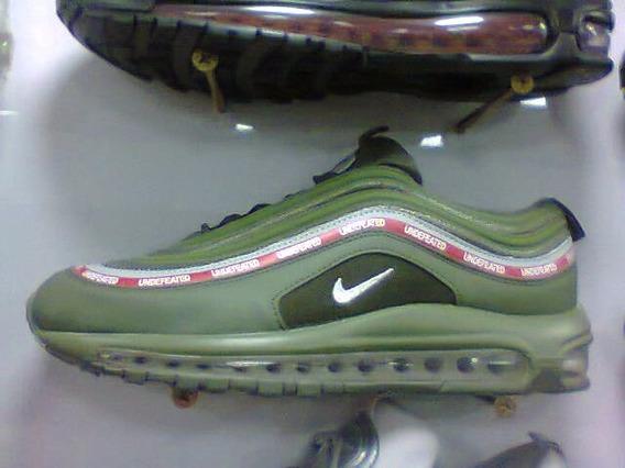 Tenis Nike Air Max 97 Verde E Vermelho Nº38 A 43 Original