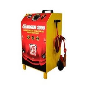 Carregador De Baterias 100a 12/24v C/ Auxiliar V8brasil