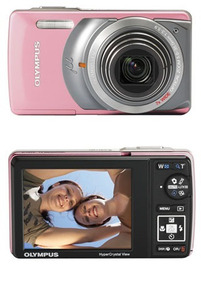 Camera Digital Olympus Stylus 7010 Rosa S/g