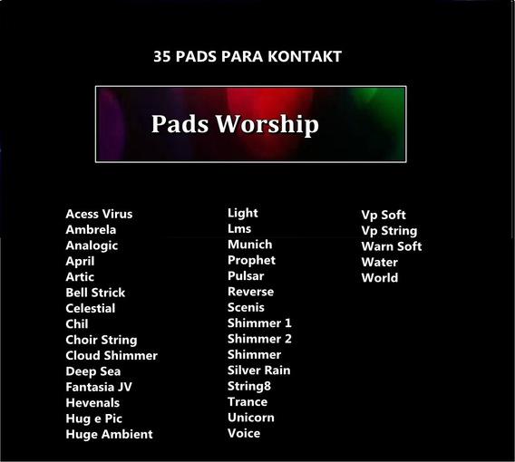 Worship Pads Para Kontakt