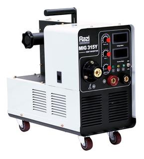 Máquina De Solda Inversora 315a Mig 315y 220v Rzms09016 Razi