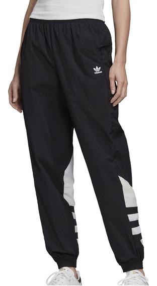Pantalon adidas Originals Moda Lrg Logo Tp Mujer Ng/bl