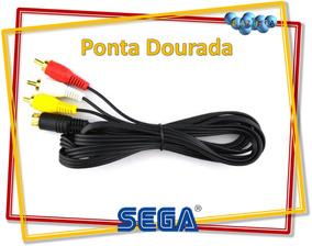 Cabo Av Ponta Dourada Do Sega Saturn - Novo A Pronta Entrega