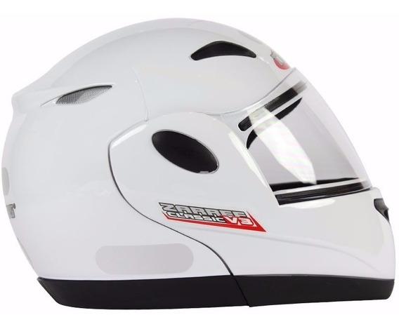 Capacete Taurus Zarref V3 - Branco Classic Tamanho 60