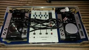 Cdj Pionner 200 Completa Com Case E Mixer