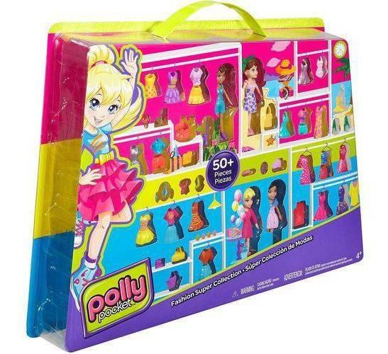 Conjunto Super Fashion Polly - Mattel