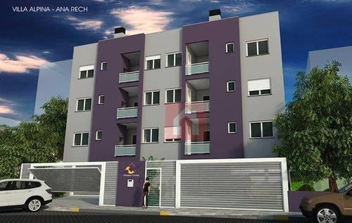 Imagem 1 de 2 de Apartamento Com 2 Dormitórios À Venda, 71 M² Por R$ 255.000,00 - Ana Rech - Caxias Do Sul/rs - Ap0375