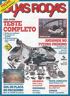 2r.172 Dez89- Honda Cbx750 Cbr450 Agrale Elefantre Pc800