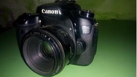 Canon 70d + Lente 50mm + Sd 32gb Classe A