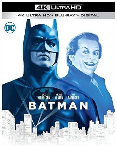 Batman 1989 Michael Keaton Pelicula 4k Ultra Hd + Blu-ray