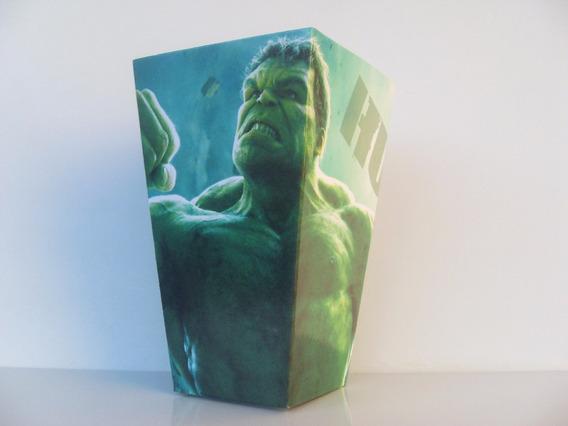 Hulk - Cono Pochoclero Pack X30