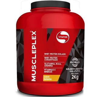 Hipercálorico Muscle Plex Vitafor 2kg - Sabor Banana