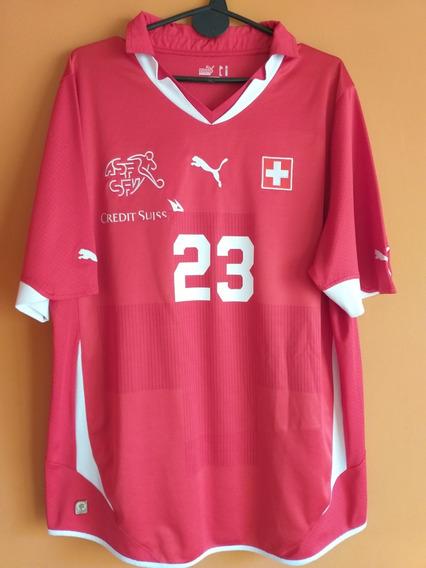Camiseta De Suiza 2011 #23 Shaqiri