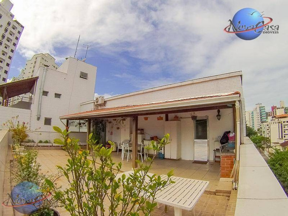 Cobertura No Guarujá Com 03 Dormitórios À Venda, 234 M² - Astúrias - Guarujá/sp - Co0009