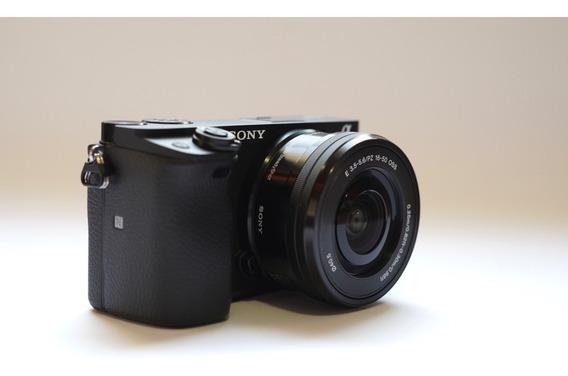 Camera Sony A6400 + Lente E 16-50mm