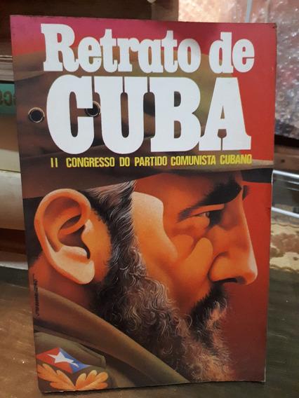 Livro Retrato De Cuba Virginia Novaes Raro Antigo