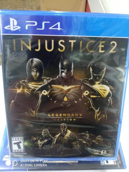 Jogo Injustice 2 Legendary Edition Mídia Física Novo Lacrado