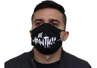 Máscara Não Descartável Personalizada Vários Times Futebol
