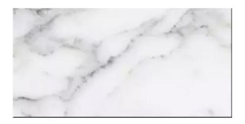 Imagen 1 de 4 de Ceramicas Simil Marmol Pared Lourdes Carrara 31x53 1ra