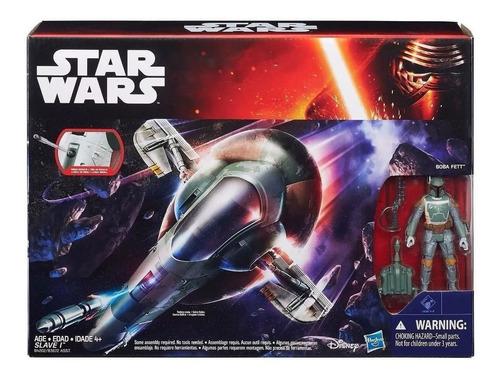 Imagen 1 de 3 de Boba Fett + Slave 1 Hasbro Star Wars Nuevo Escala 3