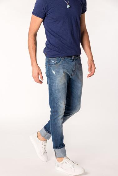 Jean Tascani Regular Tonk Azul Medio I20