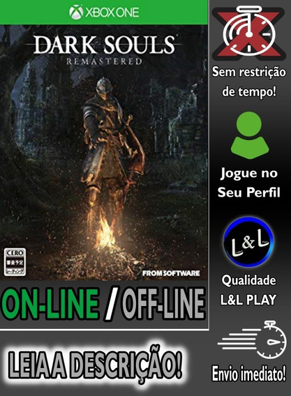 Dark Souls Remastered Xbox One Digital On/off S/restrição