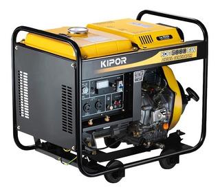 Motosoldador Kipor Diesel Monofasico 2kva Kde5000ew