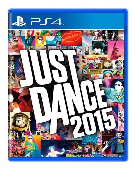 Just Dance 2015 Ps4 Mídia Física Pronta Entrega