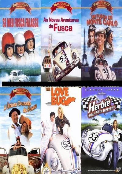 Herbie Se Meu Fusca Falasse (5 Filmes) *ler Descrição