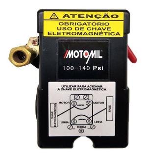 Pressostato Automático 100/140 Libras 36347.4 Motomil