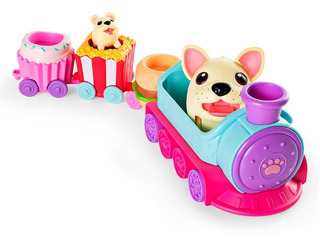 Juguete Spin Master 56726 Chubby Puppies Tren