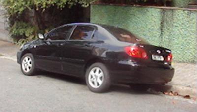 Automovel Marca Toyota/corolla, Seg 18vvt 2003/2003.