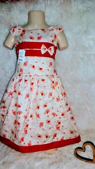Kit 5 Vestidos Mocinha Infantil Feminino Menina 01234 Anos