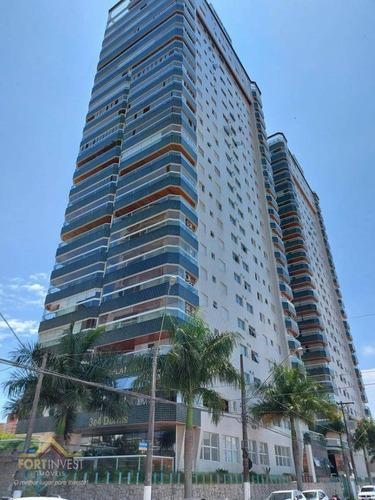 Imagem 1 de 30 de Apartamento Com 3 Dormitórios À Venda, 205 M² Por R$ 2.260.000,00 - Canto Do Forte - Praia Grande/sp - Ap2106
