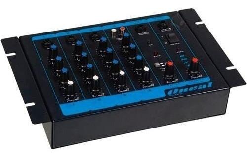 Misturador De Áudio Oneal Omx-4